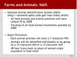 farms and animals nais