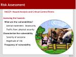 risk assessment25