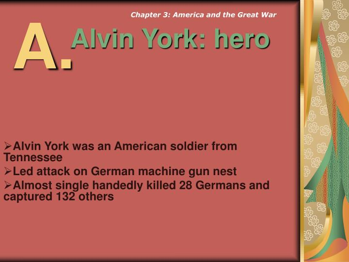 Chapter 3: America and the Great War