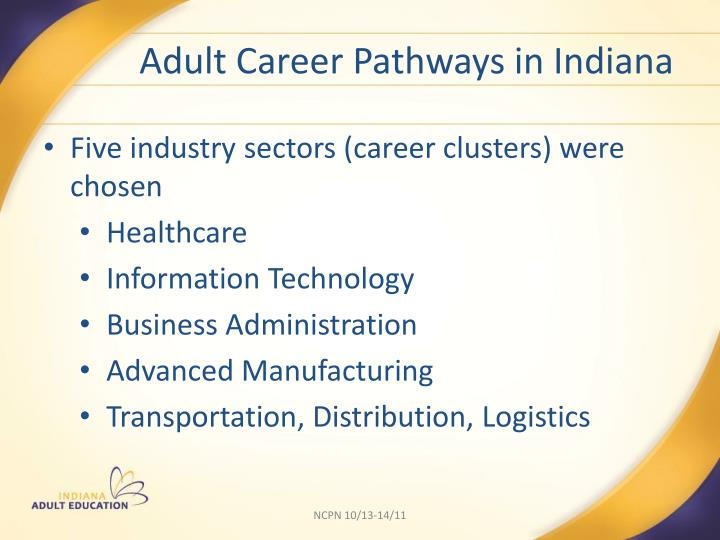 Adult Career Pathways in Indiana