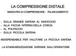 la compressione distale manovra di compressione rilasciamento