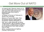 get more out of nato