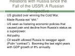 relations with russia since the fall of the ussr a russian perspective