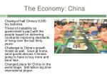the economy china