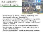 the economy eastern europe