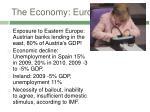 the economy europe