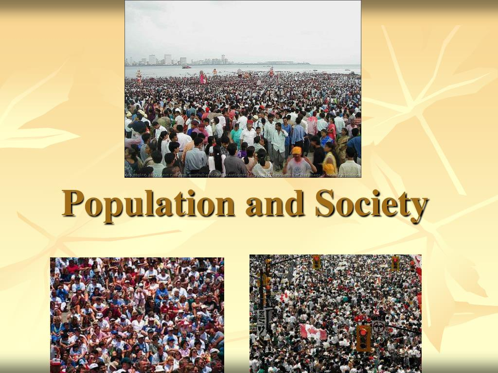 population and society l.