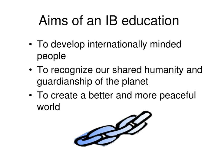 Aims of an IB education