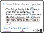 s solve label the word problem1
