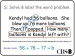 s solve label the word problem2
