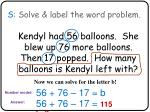 s solve label the word problem3
