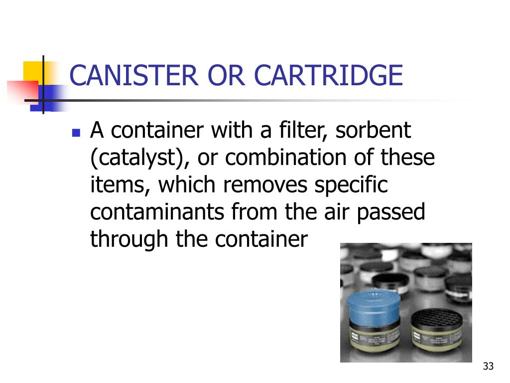 CANISTER OR CARTRIDGE