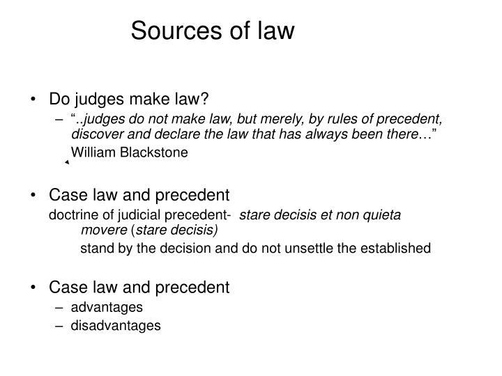 advantages of case law