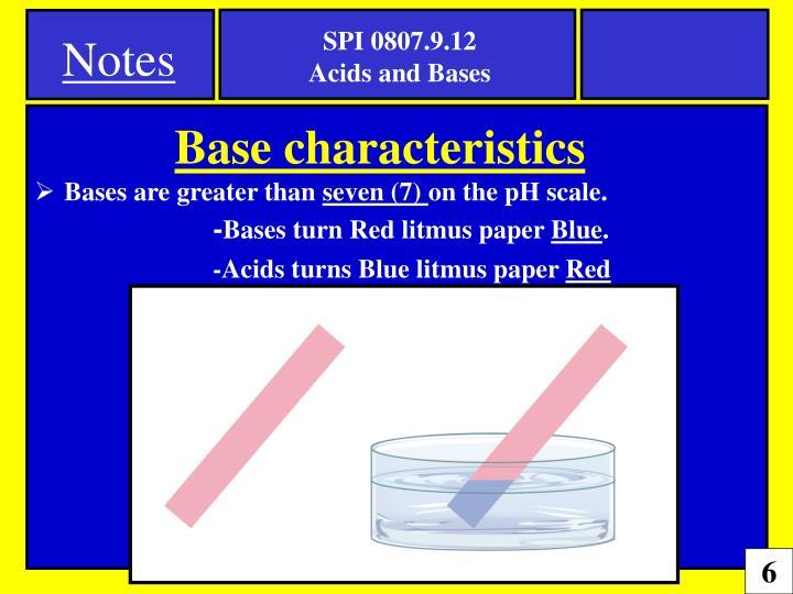 acids and bases homework (spi.9.12)
