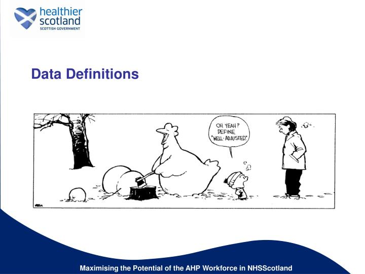 Data Definitions