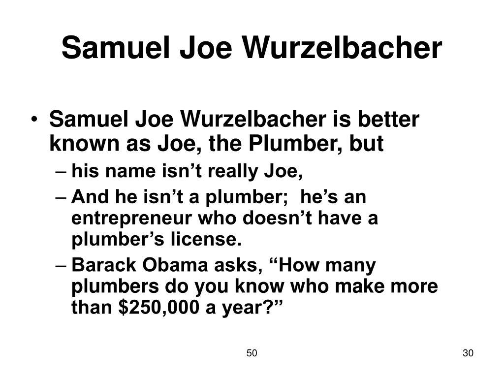 Samuel Joe Wurzelbacher