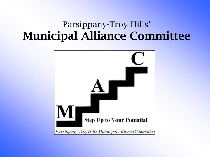 parsippany troy hills municipal alliance committee n.