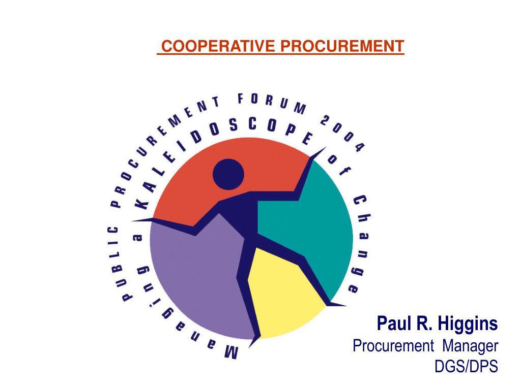 cooperative procurement l.