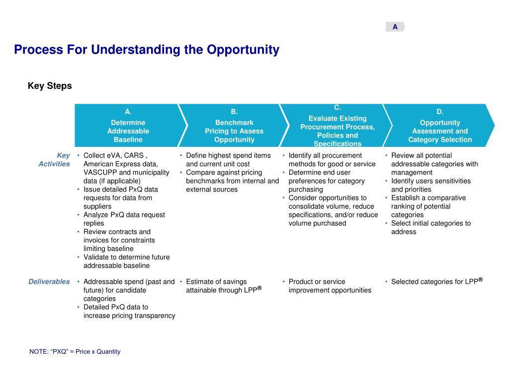 Understanding the Opportunity