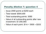 penalty dilution 1 question 4