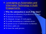 4 leveraging on automation and information technology in audit engagements