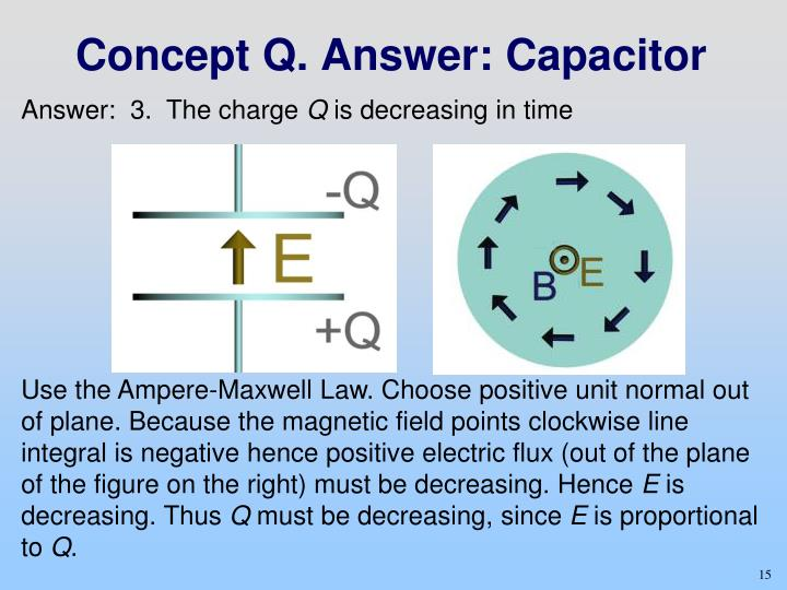 Concept Q. Answer: Capacitor