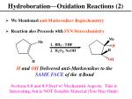 hydroboration oxidation reactions 2