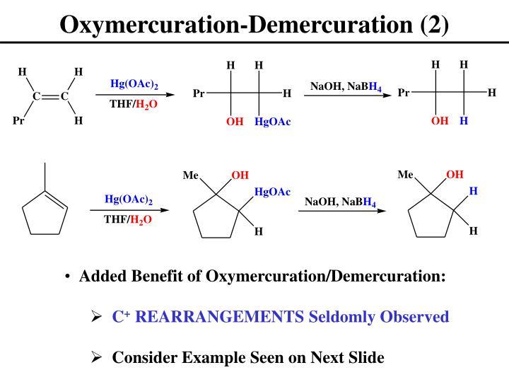 Oxymercuration-Demercuration (2)