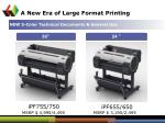 a new era of large format printing