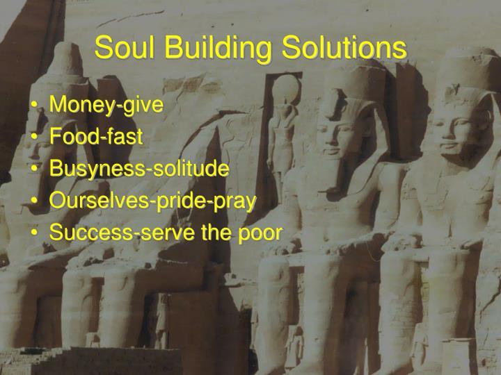 Soul Building Solutions
