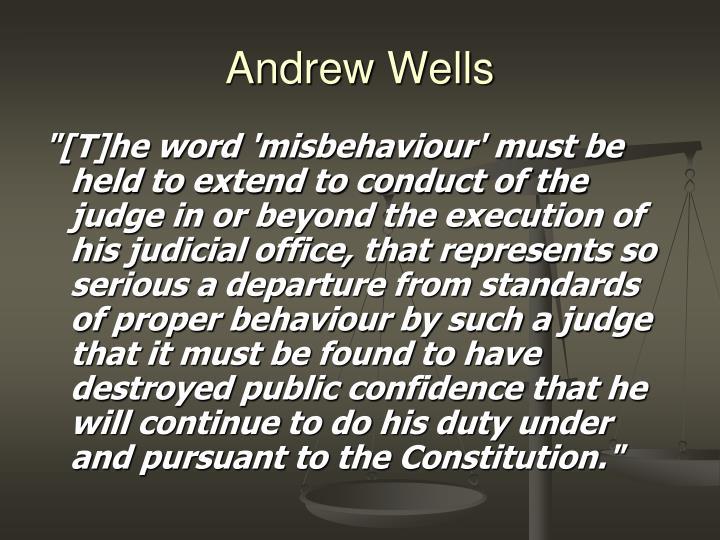Andrew Wells