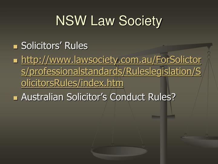 NSW Law Society