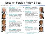 issue on foreign policy iraq11