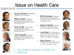 issue on health care7