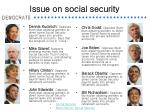 issue on social security15