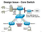 design issue core switch37
