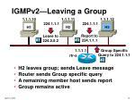 igmpv2 leaving a group19