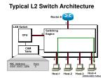 typical l2 switch architecture