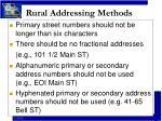 rural addressing methods10