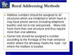 rural addressing methods8