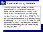 rural addressing methods9