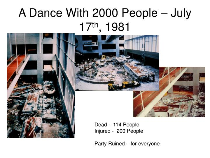 A Dance With 2000 People – July 17