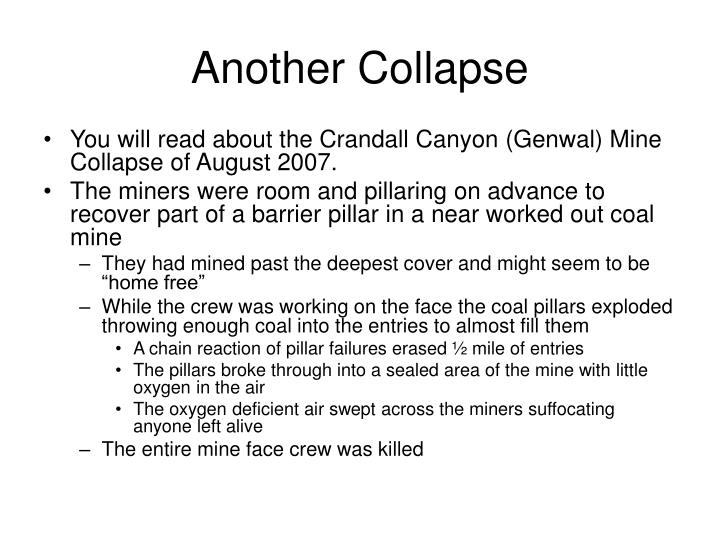 Another Collapse