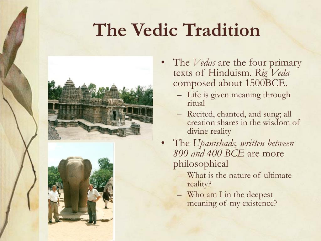The Vedic Tradition