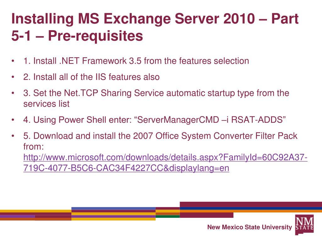 Exchange 2010 Download