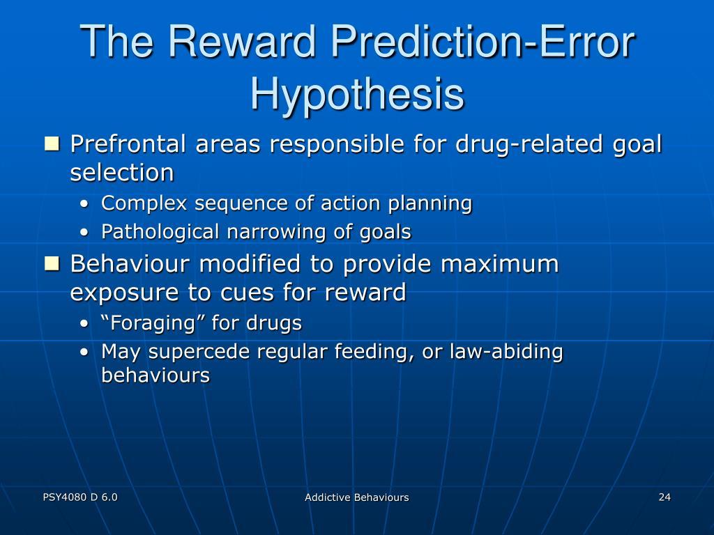 The Reward Prediction-Error Hypothesis