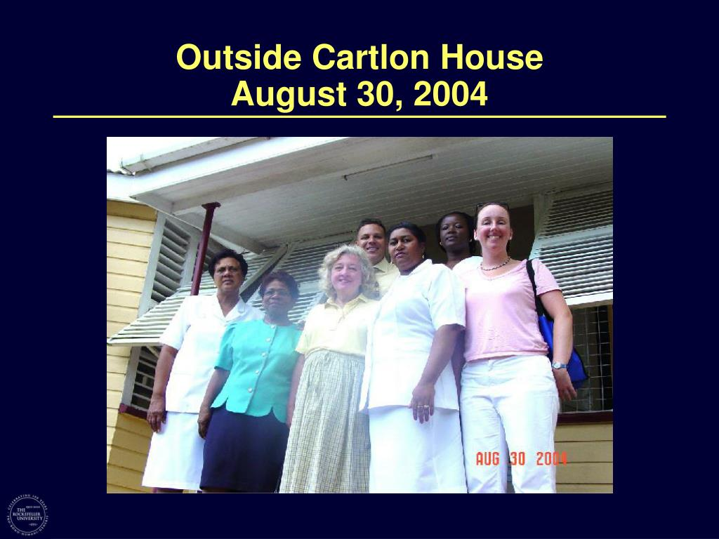 Outside Cartlon House