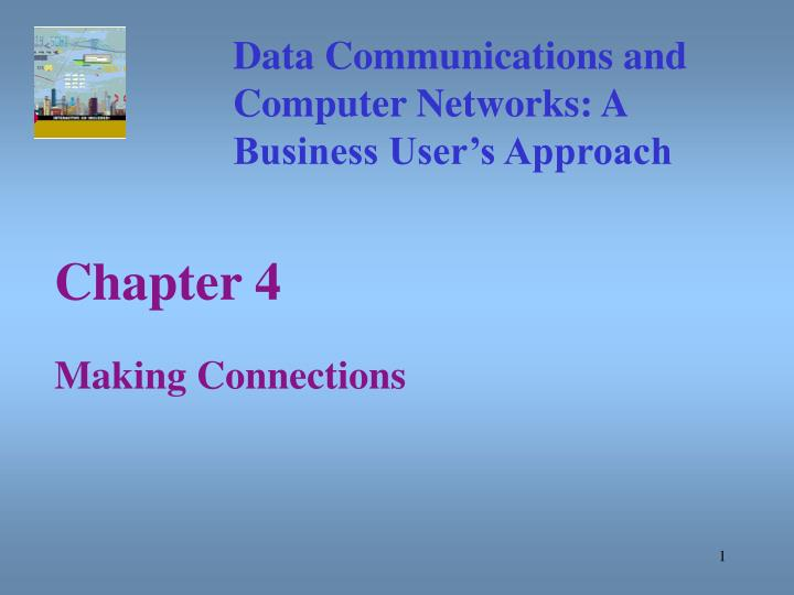 chapter 4 making connections n.