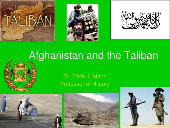 afghanistan and the taliban n.