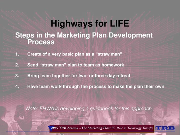 highways for life n.